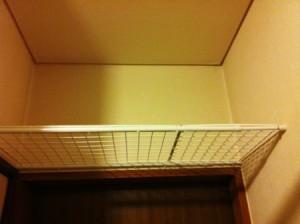 100円ショップ ダイソー(DAISO)手作り棚の作り方 突っ張り具合を調節