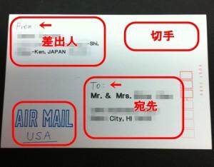 ハガキを国際郵便で海外に送る方法 エアメールの出し方