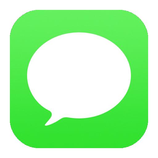 iPhone メッセージアプリ アイコン